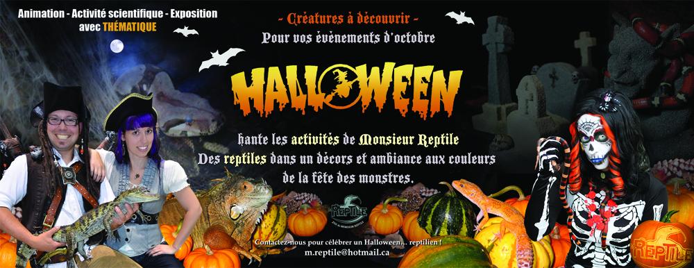 Halloween reptiles