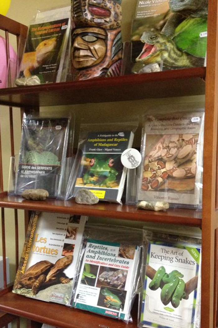 livres de références reptiles